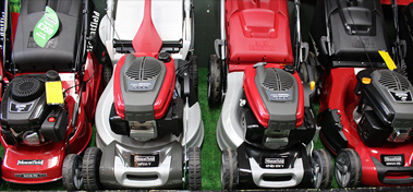 Walk behind lawn mowers for sale at Salisbury Garden Machinery